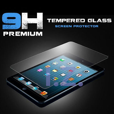 TEMPERED GLASS FILM SCREEN PROTECTOR FIT  FOR APPLE IPAD AIR 1/ 2 IPAD PRO