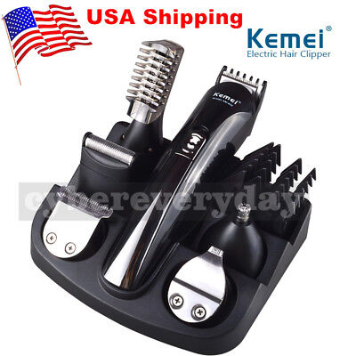 Used, Electric Body Beard Hair Men Cut Clipper Shaver Machine Razor Trimmer Tools US for sale  Shipping to Canada