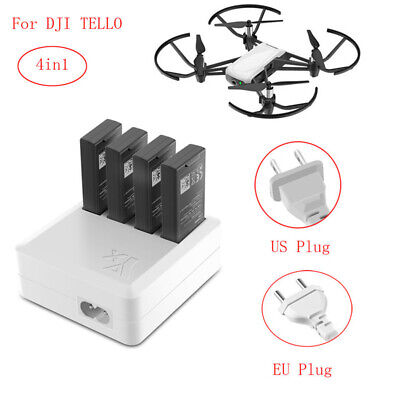 4 in1 DJI Tello Drone Parts Fast Quick Charging Intelligent Battery Charger Hub