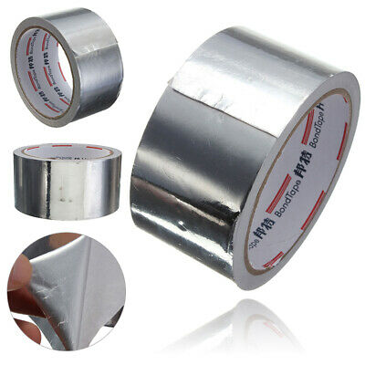2inches X 8ft Roll Silver Aluminium Adhesive Foil Sealing Tape Heating Duct Repa