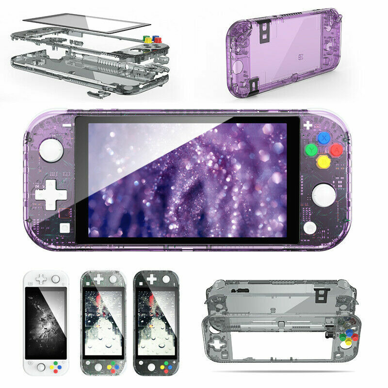 For Switch Lite Console Joy-Con Controller Replacement Shell Case Back Cover USA