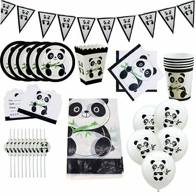 cute Baby Shower Panda bear animal kung fu boy BALLOON SUPPLIES DECORATIONS](Panda Baby Shower Decorations)