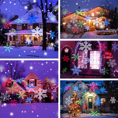 Outdoor LED Laser Lights Projector Waterproof Light Christmas Party Decoration  Light Xmas Ornament