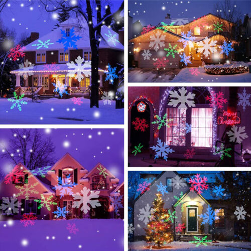 Outdoor LED Laser Lights Projector Waterproof Light Christma