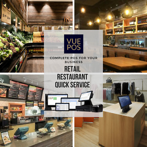 VUE-POS for Retail, Restaurant, Pizza, Convenience Point of Sale