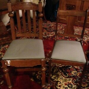 Miscellaneous chairs and end tables