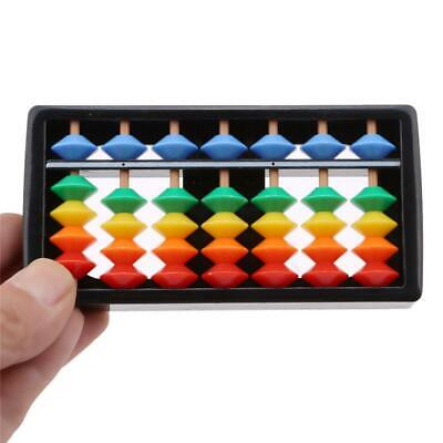 WLooden Children's Counting Bead Abacus Educational Frame Maths Toy For Kids SL