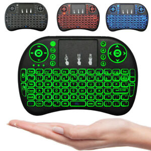 MINI KEYBOARD MOUSE WIRELESS 2.4 GHZ 4 in 1 ANDROID SMART TV PC+