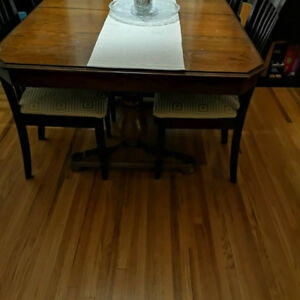 Solid wood dining table for sale