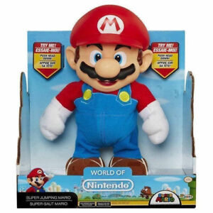 JAKKS Pacific World of Nintendo Super Mario Super Jump Mario