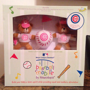 *Chicago Cubs Pink Crib Mobile*BRAND NEW in Box*MAKE AN OFFER*