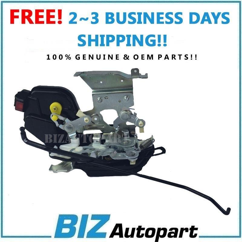 GENUINE Door Lock Actuator FRONT LEFT Fits 03-08 Hyundai Tiburon OEM 813152C000