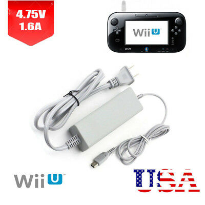 Best New AC Adapter for Nintendo Wii U Gamepad - Charging Cable / Cord (Best Wii U Controller)