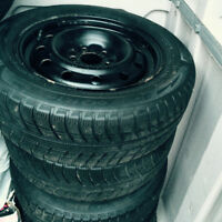"16 "" Michelin Snow Tires with Rims for Sale"