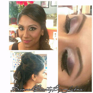Certified mobile makeup and hair artist at affordable prices!! Cambridge Kitchener Area image 1