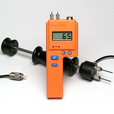 Delmhorst BD-2100 Moisture Meter with 26ES, Contact Pins and Case, 1 Yr Warranty