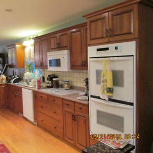 SOLD    -   Kitchen Cabinets and Appliances