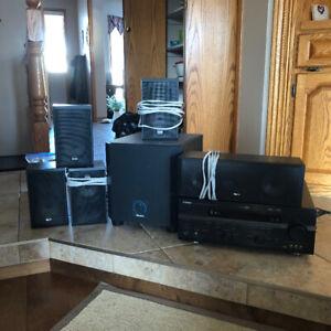 Yamaha AV RecieverRXV659  surround sound