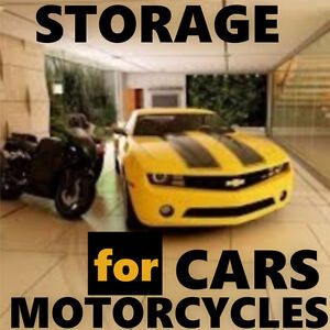 Storage Spot Motorcycle Car Bay & Queens Quay Secure/Covered