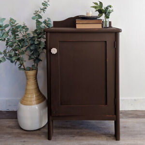 Farmhouse Style Accent Storage Cupboard Table
