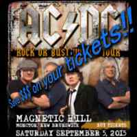 AC/DC: 2 General Admission Tickets, save on service fees!