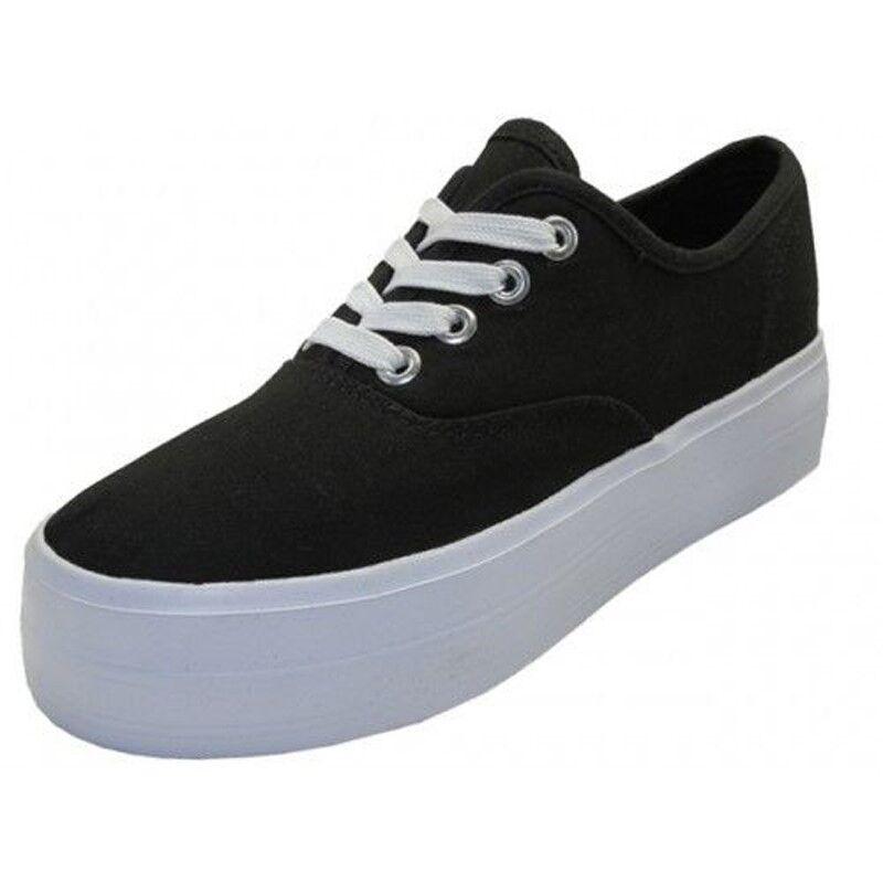 platform canvas shoes ebay