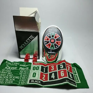 Vintage EXEC-U-PLAY ROULETTE By Imaginamics Electronic Game