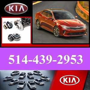 Kia Optima ► Bearings, Calipers • Roulements, Étriers