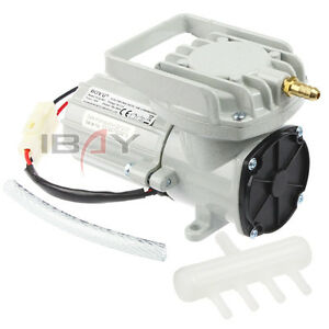 12V Portable Aquarium Air Compressor Aquaculture Water Fish Hi Pressure Pump New