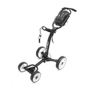 Axglo Flip n' Go 4 Wheel Push Cart possesses strength, stability