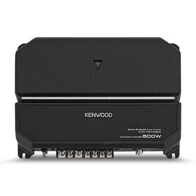 Kenwood Power Amp Amplificador estéreo de coche puenteable de 500 canales de 2 vatios Clase A / B