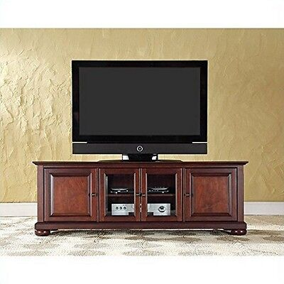 Crosley Furniture Alexandria 60-Inch Low Profile TV Stand, Vintage