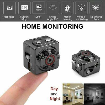 Recorder Nanny Full Cam Video Hidden Motion Detection 1080P HD Mini SPY Camera