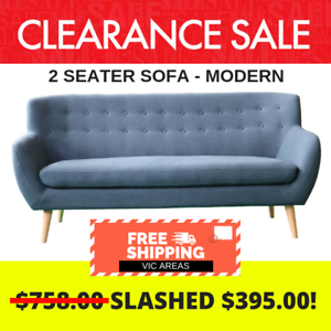 2 5 Seater Modern Sofa Clearance