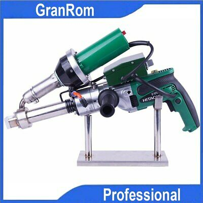 110v Handheld Plastic Welding Extruder Extrusion Gun For Pp Hdpe Ldpe Extruder