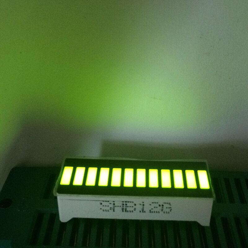 5pcs LED Display 12Segments Bar-graph Yellow Green 12Bargraph Bar-graph Modules