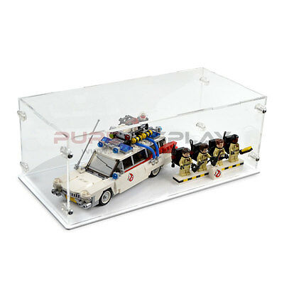 Acrylic Perspex Model Display Case For LEGO 21108 Ghostbusters