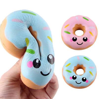 10cm Schöne Donut Cream Scented Squishy Langsam Steigende Squeeze Toy Collection ()