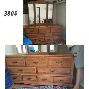 Dresser with a mirror in a perfect conditions! Need gone Peterborough Peterborough Area image 1