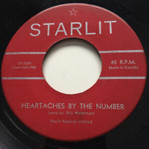 Buying 45rpm vinyl records from the 50's and 60's
