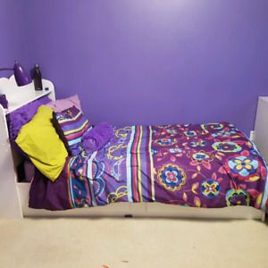Twin Bed w/mattress