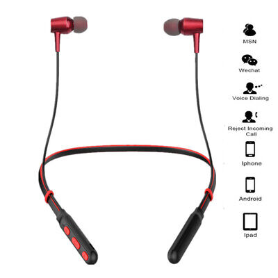 Wireless Bluetooth Headphones Sport Running Earphones Stereo Super Bass Headset