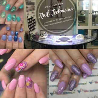Nail salon - acrylic nails and gel polish manicures
