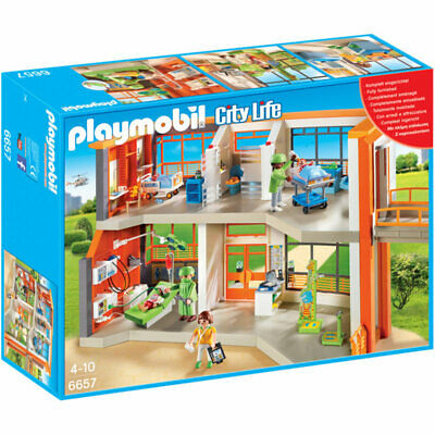 PLAYMOBIL Furnished Children's Hospital - City Life 6657