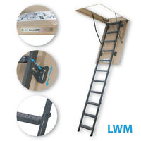FAKRO LMS Insulated solid wood attic ladder