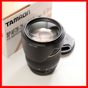 Tamron full frame SP AF 28-75mm f/2.8 Macro A09 for Nikon