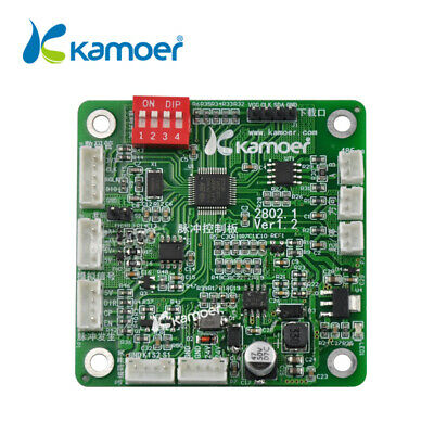 Kamoer 2802 Pulse Generator Controller Working With Step Motor Driver Board