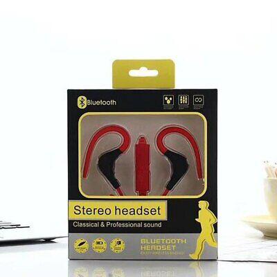 Earphones Wireless Bluetooth Sport Earbuds Stereo Over-Ear Neckband w/ Mic