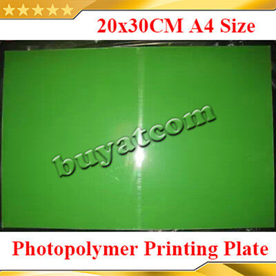20x30cm Water Washable Stamping Cliche Making Uv Exposure Photopolymer Printing