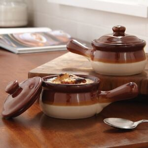 Brand New: Traditional Stoneware soup bowls set of 4 for 19.95